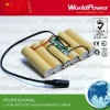 Solar system lithium battery pack 11.1V 5200mah