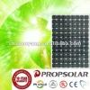 Solar system with monocrystalline solar panel 255W