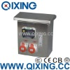 Stainless Steel power Combination Socket Box