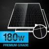 Superior 180W monocrystalline silicon pv solar panel