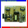"""TV & Monitor Power Supply and Backlight Inverter 2in1 Board for 17""""-19"""" 4 Lamps TFT LCD Module"""