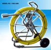 TVBTECH Professional industrial drain / wall / pipe inspection camera 60m fiberglass cable with DVR control box