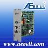 Telephone input module for addressable&multi-zone broadcasting system