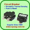 Thermal Circuit Breaker,Overload Protector, Current Protector,