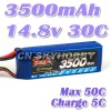 Tiger- 14.8V 3500mh 30C max 50c lipo battery for rc model