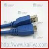 USB 3.0 5Gbps A-Male To A-Female Printer Data  Cable