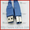 USB 3.0 Male Type A to B Super Speed Extension Cable
