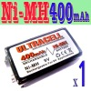 Ultracells 9V 400mAh Rechargeable Battery