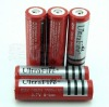 Ultrafire battery 18650 with 3.7V 3000mAH