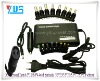 Universal 100W Notebook Computer Replacement Power Adapter with 8 Interfaces,EU AC Cable