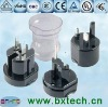 Universal Travel Adapter with 6 to 10A Rated Current, Can be Used in Over 150 Countries