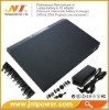 Universal external laptop battery with LCD