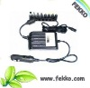 Universal laptop car adapter with max 100W output for 12V vehicles