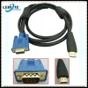 VGA HDMI Cable with 28AWG w/Ferrite Cores Male to Male