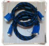 VGA MONITOR CABLE MALE TO M FOR TV LCD PROJECTOR Connector HDDB15 15-pin (male to male)