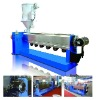 Wire cable extrusion line