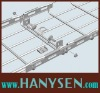 Wire mesh cable tray splice plate