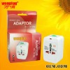 World Travel Adapter with fully CE(LVD)ROHS Approved