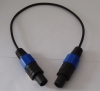 XLR Microphone cable ,speakon(m)-speakon(m) cable