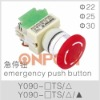 Y090-11TS emergency push button switch,emergency switch,emergency stop button
