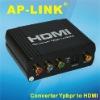 Ypbpr to HDMI converter