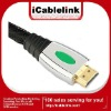 Zinc-alloy molded 15M HDMI cable 1.4 support full HD1080P&HDMI Ethernet