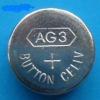 alkaline AG3 one-off button battery