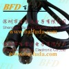 coaxial cable  75 Ohm RG59 RG6 F screw connector