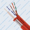 coaxial cable RG6 OR RG11+UTP,Siamese cable