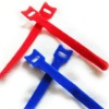 colorful self locking cable tie vecro