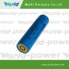 cylindrical led flashlight battery 3.7V