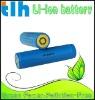 diving flashlight battery