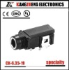 dual channel male yueqing CK-6.35-19 industrial socket