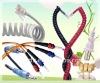 elastic telephone wire