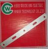 electric cable fitting , galvanized Yoke Plate