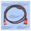 ferrite cores 1.5M 1.5 meters HDMI Cable A type to C type, connect with 1080p M/m