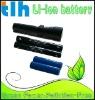 flashlight li-ion battery 2800mah 7.4v for led flashlight