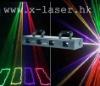 four head yellow+green+rose+violet laser light
