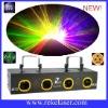 four lens four colors motor beam stage laser light