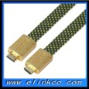 good quality flat hdmi cable 1080p mini hdmi cable support 3D