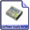 high efficicency 25W AC85-264V 47-64Hz led  spower supply