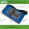 high power Lithium Battery pack 11.1V 3600mAh
