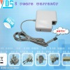 high quality ac laptop adapter for apple 14.5v 3.1a (dc tip : Bent head magnet )
