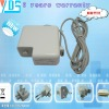 high quality notebook power adapter for apple 16.5v 3.65a 60w (dc tip : Flat head magnet square )