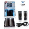 hot PEGA brand for nintendo wii non-connection double charge station black for game electronics accessory