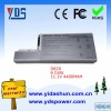 laptop battery 6 cells 11.1V 4400MAH for DELL D820