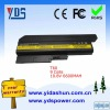 laptop battery 9 cells 10.8V 6600MAH for IBM T60