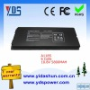 laptop battery black 6 cells 10.8V 5800MAH for APPLE A1185
