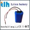 led flashlight battery 4Ah 14.8v(li ion)