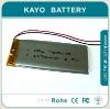 li-polymer batteries 3.7V 1150mAh
